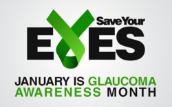 Save Your Eyes, January is Glaucoma Awareness Month